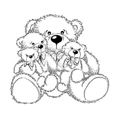 Dessin peluche ours - Dessin ours en peluche ...