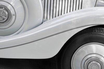 Image Détail d'une vieille carrosserie automobile