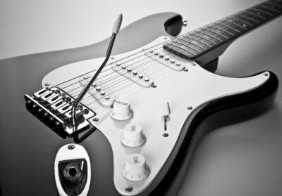 Image Détail de guitare électrique
