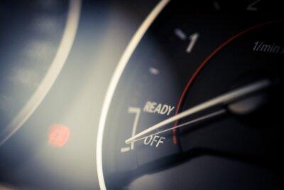 Image Détails du tachymètre de la voiture