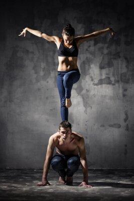 Image Deux danseurs