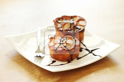deux gâteaux aux amandes