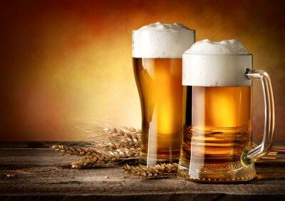 Image Deux tasses de bière
