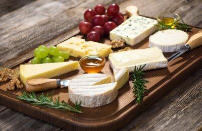 Image Différents types de fromage,