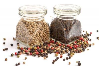 Image Différents types de poivre