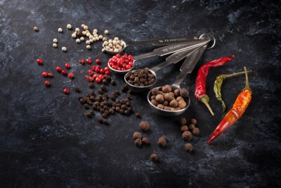 Image Divers, poivre, piment, poivre