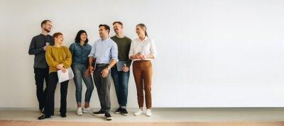 Image Diverse creative team looking happy