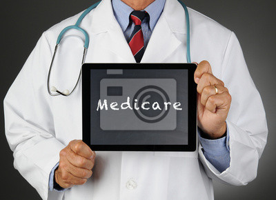 Doctor With Tablet Computer Medicare