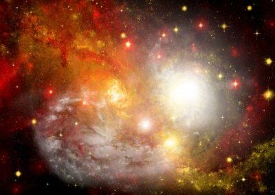 Image Domaine étoiles dans l'espace et un nébuleuses