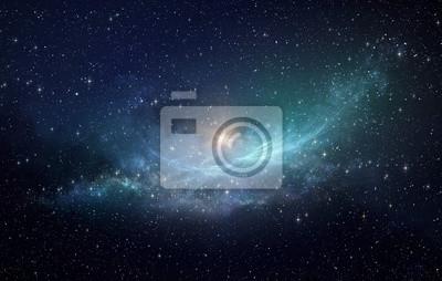 Image Domaine hiérarchique et nébuleuse dans l'espace