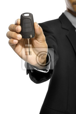 Donnez-clés de voiture