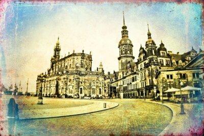 Image Dresden illustration vintage
