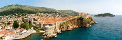 Image Dubrovnik murs panorama