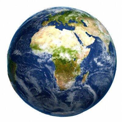 Image Earth globe carte