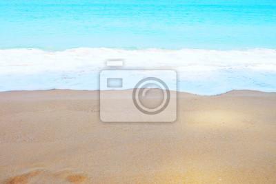 Eau de couleur douce à Thaimuang Beach, Phang-Nga, Thaïlande