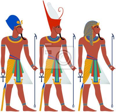 Egypte Antique Pharaon Pack For Pâque Peintures Murales Tableaux