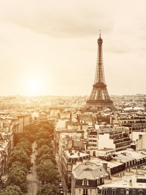 Image Eiffel depuis l'Arc de Triomphe