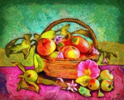 Image Encore, vie, pommes