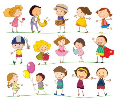 Image Enfants mixtes