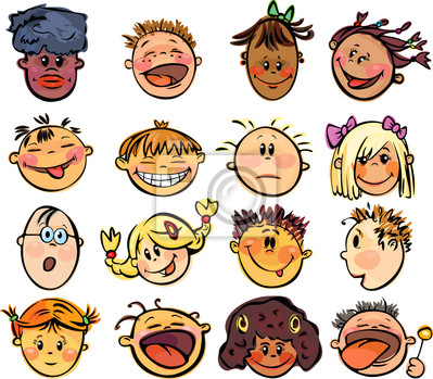 Enfants visages.