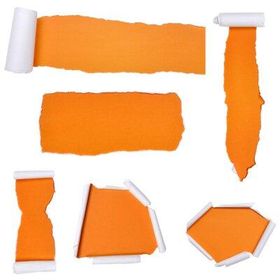 Ensemble de papier déchiré