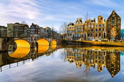 Image Ensoleillé matin à Amsterdam, Pays-Bas