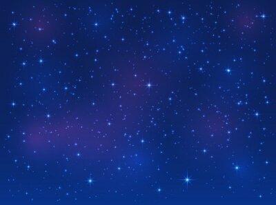 Image Étoiles, bleu, ciel, fond