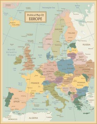 Image Europe très map.Layers détaillés utilisés.