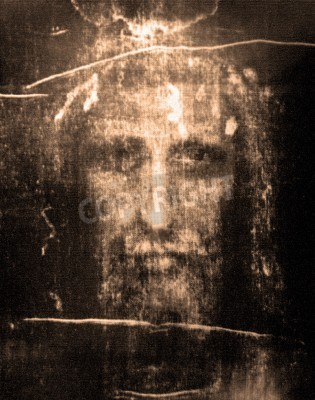 Image Face of Jesus from  Shroud of Turin