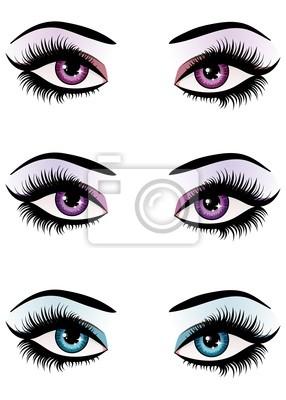 Fantaisie maquillage des yeux