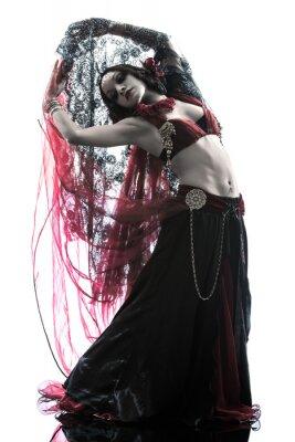 Image Femme arabe danseuse du ventre danse