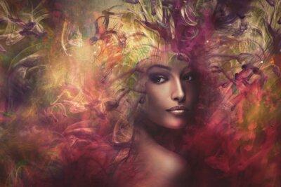 Image Femme fantaisie composite