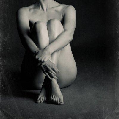 Image Femme nue assise