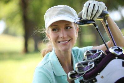 Image Femme sur le golf