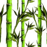 feuilles branches tige bambou mod le fleurs texture cadre sans peintures murales tableaux. Black Bedroom Furniture Sets. Home Design Ideas