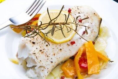 Image Filetto di merluzzo con peperoni