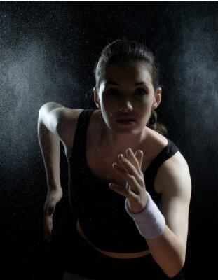 Image fille dans le sport