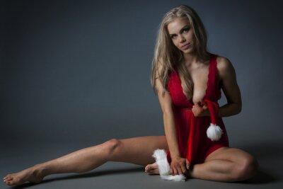 Image Fille de Noël