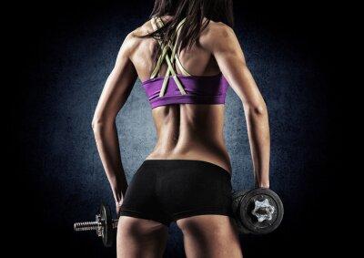 Image Fitness femme sportive dans la formation