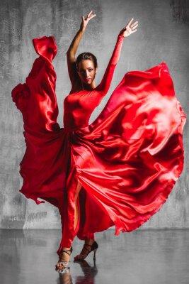 Image flamenco dancer
