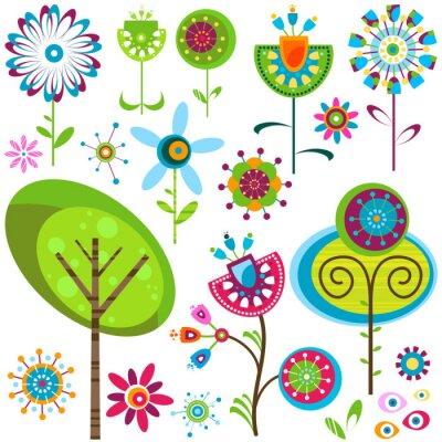 Image fleurs de fantaisie