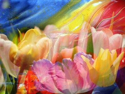 Image Flux de fleurs