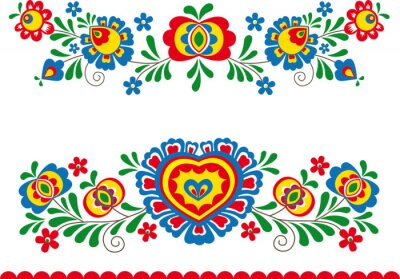 Image Folk ornaments