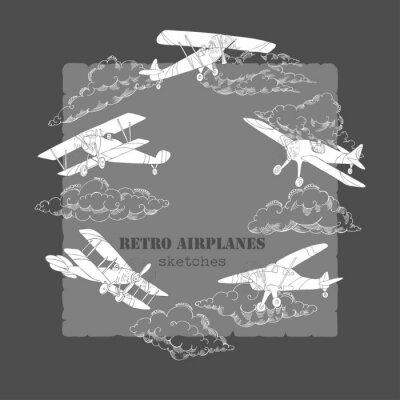 Image Fond avec des avions