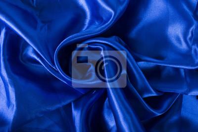 Fond bleu satiné