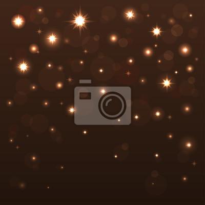 Fond, brillant, étoiles, sombre, ciel