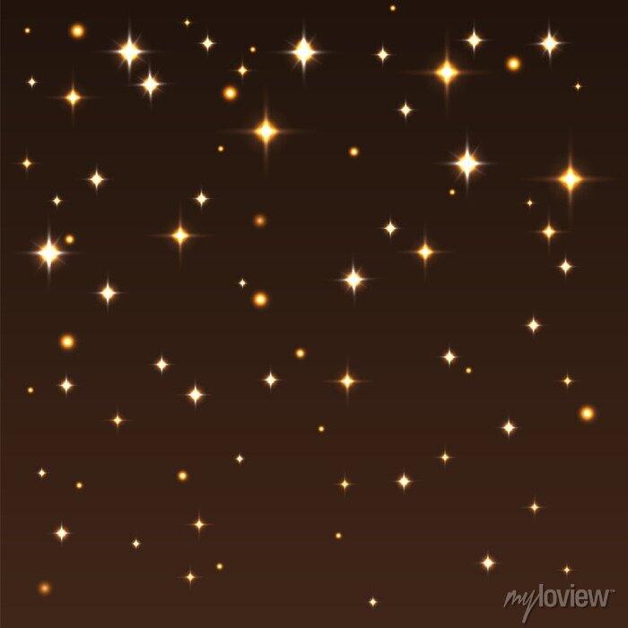 Image Fond, brillant, étoiles, sombre, ciel