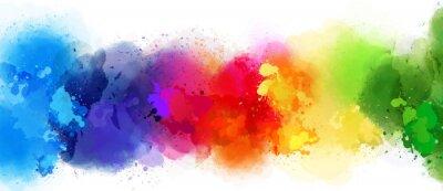 Image fond coloré splash