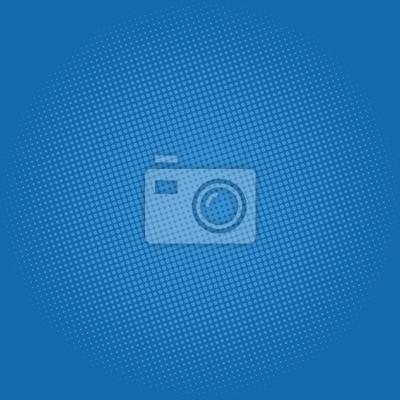 Fond Dart Pop Points Sur Fond Bleu Fonce Fond De Demi Teinte