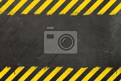 Image Fond de béton avec panneau de signalisation de grunge